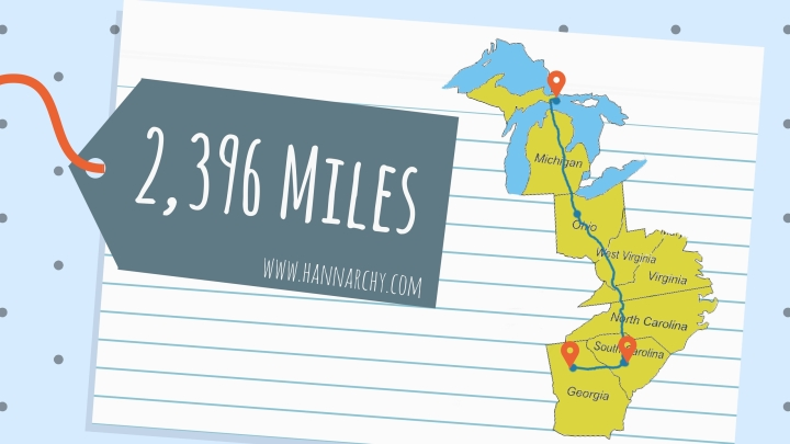 The Reinhard Chronicles: 2,396 Miles