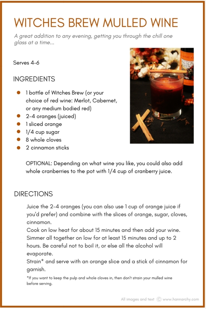 Witches Brew Mulled Wine