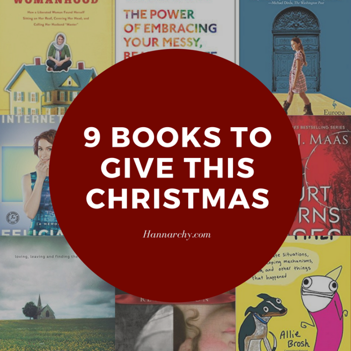 9 Books to Give this Christmas