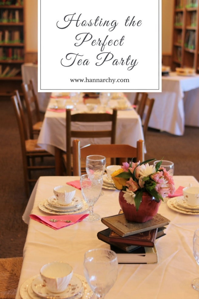 hosting the perfect tea party