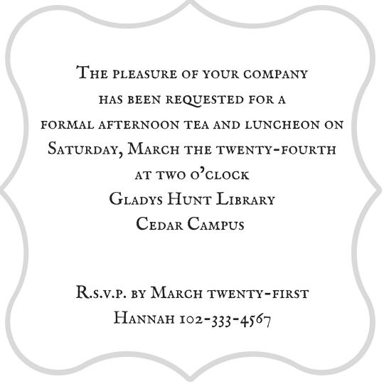Tea Party Invitation (1)