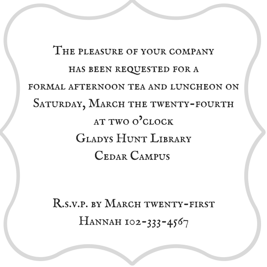 Tea Party Invitation (1)