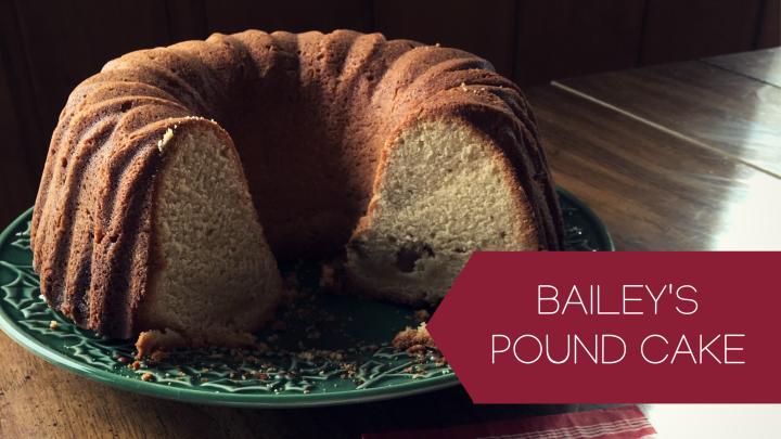 Baileys Pound Cake
