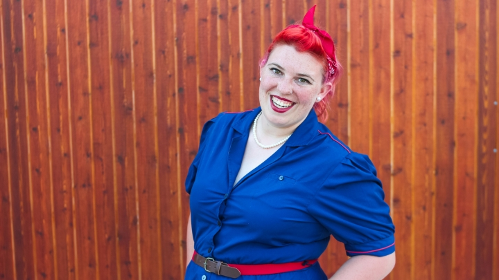 What I Wore: Rosie the Riveter