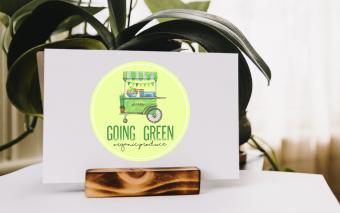 Going Green Mockup